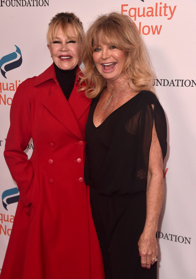 Melanie Griffith i Goldie Hawn (2018)