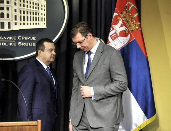 Dačić navodi da je Vučićeva ideja o razgraničenju naišla na brojna negodovanja