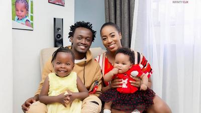 Diana Marua excites Kenyans after doing this for Bahati's daughter Mueni