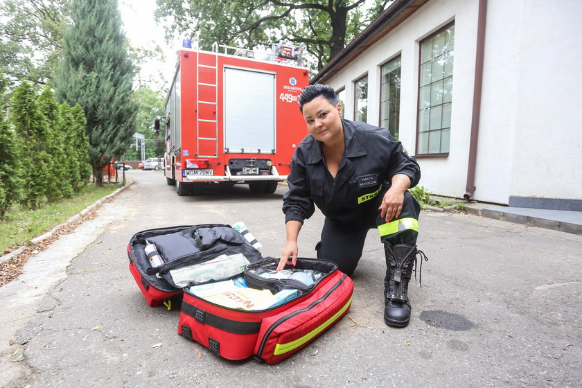 Złodziej okradł strażaków. Na ratunek przyszła Fundacja Faktu