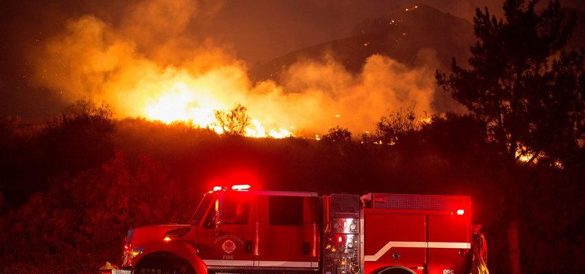 Piroman podpalił Kalifornię. Ewakuacja ponad tysiąca osób
