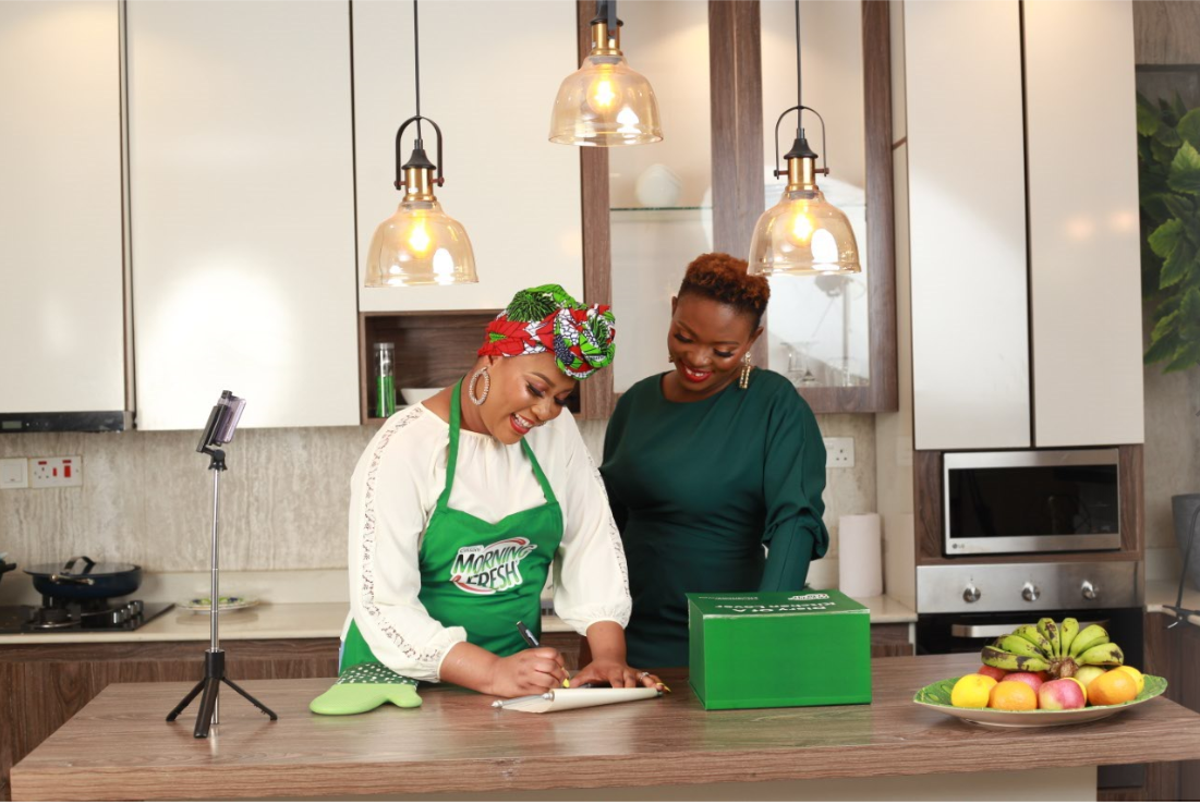 Diary of a Kitchen Lover, Tolani is Morning Fresh's official brand  ambassador!