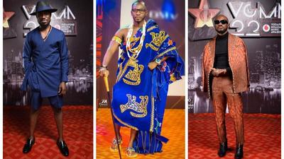 VGMA22: 10 best-dressed male celebrities we spotted on the red carpet