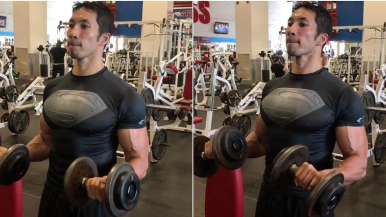Get a better pump with this killer bicep finisher