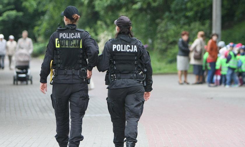 Patrole Policji w Gdyni