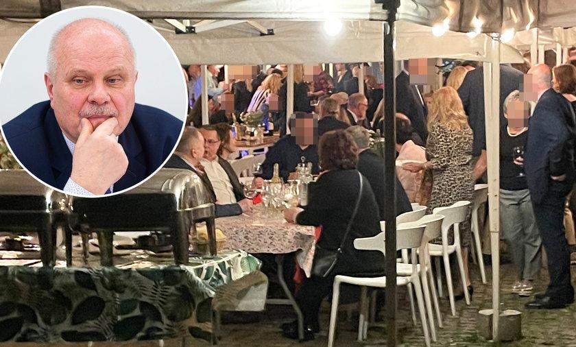 Na urodzinach u Roberta Mazurka bawili też posłowie Nowej Lewicy, m.in. Marek Dyduch.