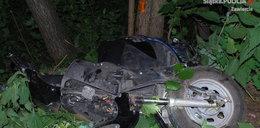 Tragedia w Szczekocinach. Zginął na motorowerze
