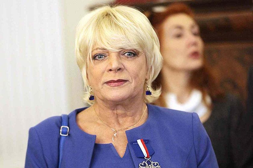 Dorota Stalińska w marcu 2013 roku