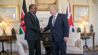Kenyan President Uhuru Kenyatta wades into BREXIT and says he's glad it happened