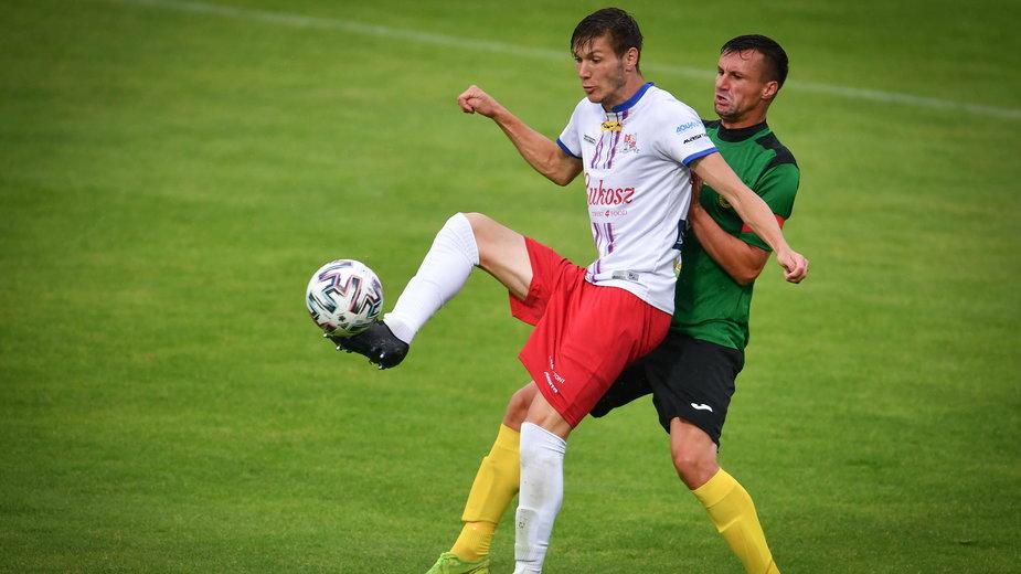 W meczu z GKS Jastrzębie Marko Roginić zdobył swoją 11. bramkę w sezonie.