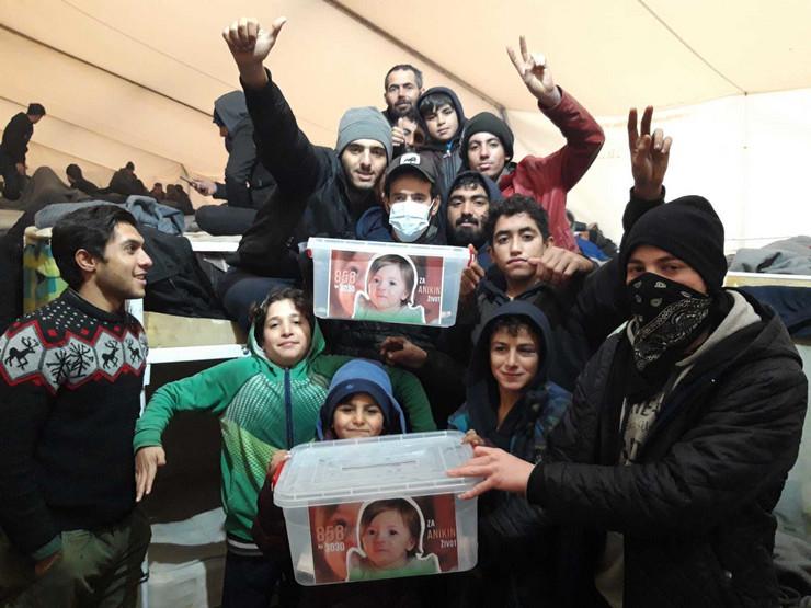 Migranti skupljali novac za teško bolesnu srpsku decu