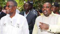 Late Prof Atta Mills and Koku Anyidoho