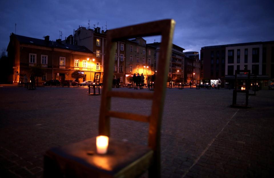 75. rocznica likwidacji przez Niemców getta w Krakowie