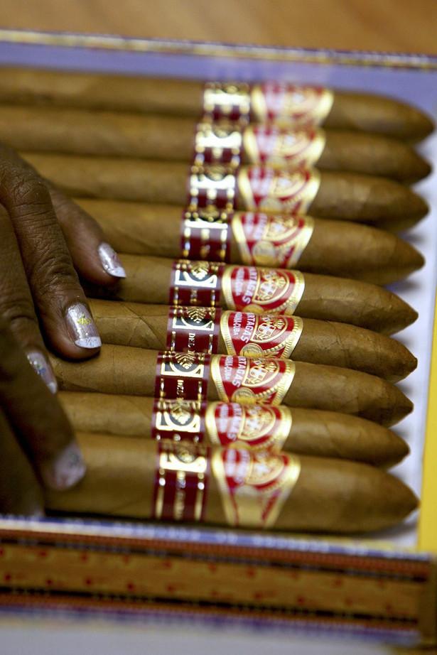 Cygara stanowią czwarty pod względem wielkości kubański towar eksportowy