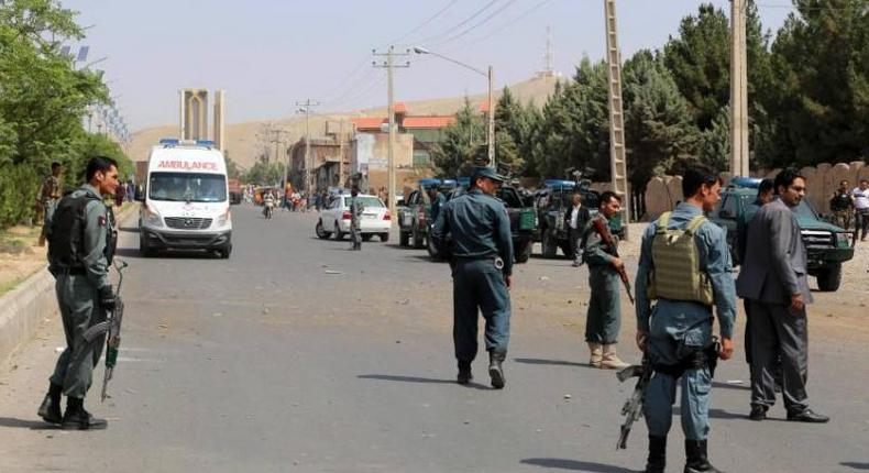 The policemen were killed while they were sleeping in an outpost in the district of Almar