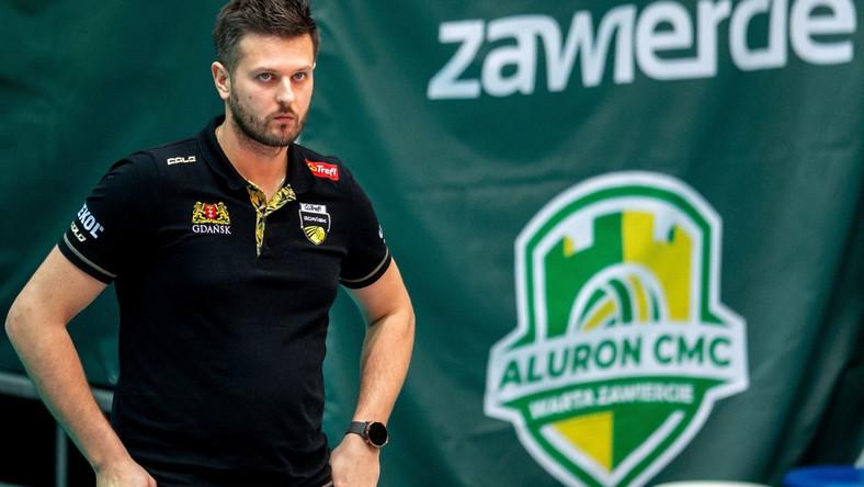 Trener Trefla Michał Winiarski