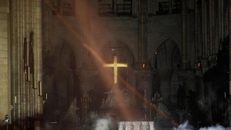 Miracle in Paris as cross and alter remain intact despite Notre Dame Cathedral fire
