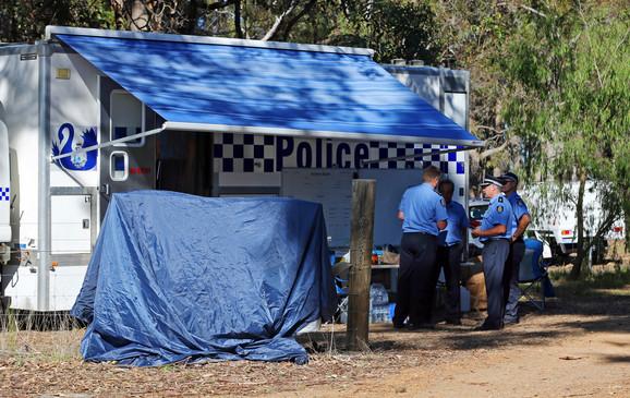 Policija na farmi gde su nađena tela