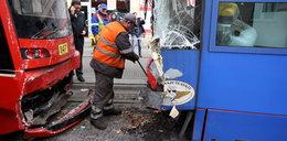 Zderzenie tramwajów w Katowicach!