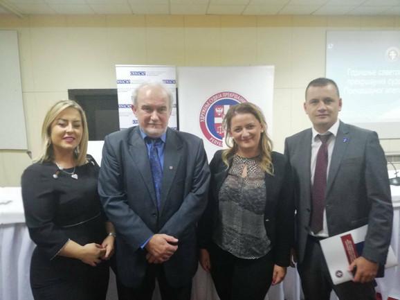 Potpisnici sporazuma Udruženja sudija i tužilaca Srbije
