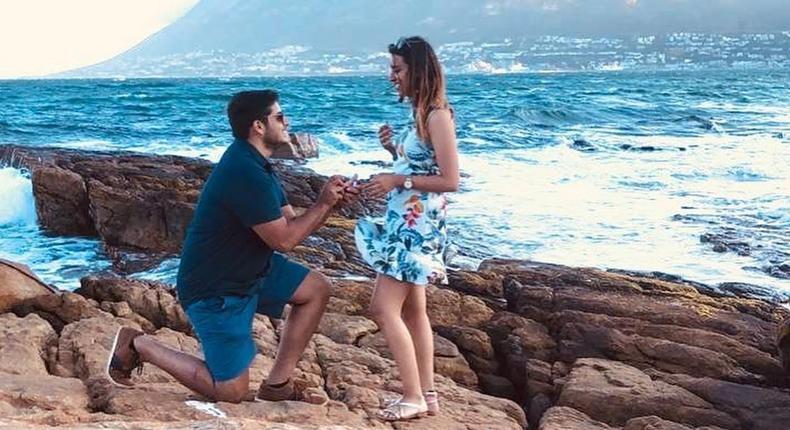 K24 News Anchor Shiksha Arora gets engaged to longtime boyfriend (Instagram/Shiksha Arora)