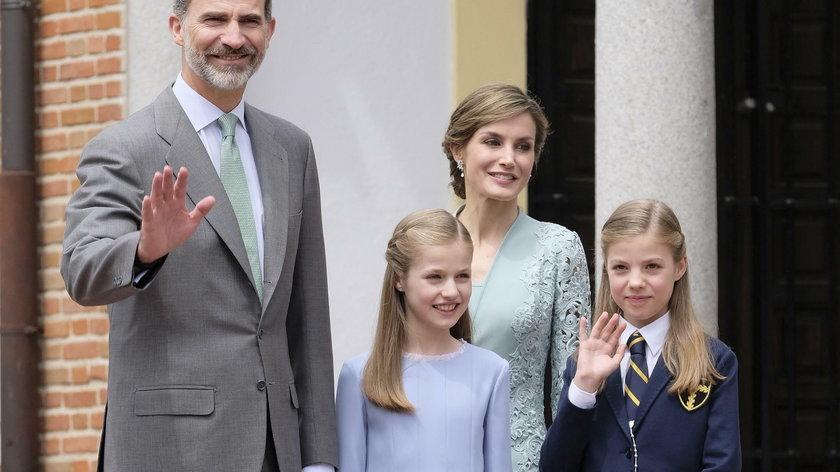 Hiszpańska rodzina królewska