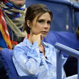 Victoria Beckham cała na niebiesko. Zaliczyła wpadkę?