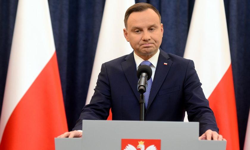 Prezydent Andrzej Duda straci na Polskim Ładzie. To już pewne.