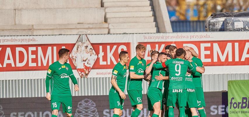 Fortuna 1 Liga. Radomiak wygrywa z Zagłębiem Sosnowiec po samobóju