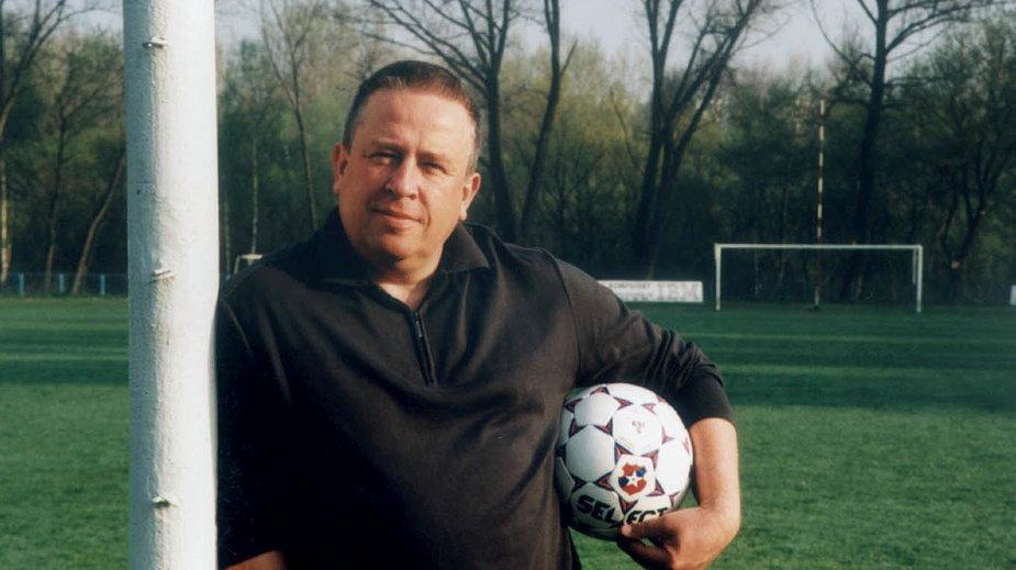 Piotr Voigt w latach 90.