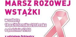 W sobotę Marsz Różowej Wstążki