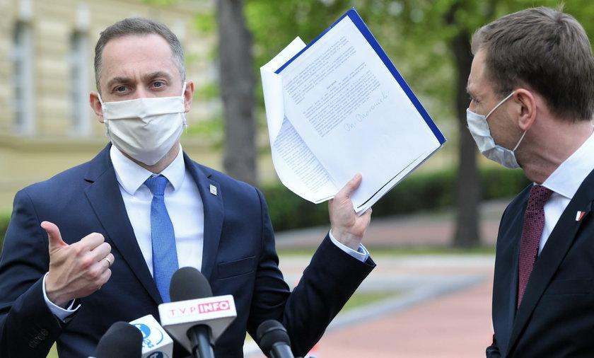 Posłowie Koalicji Obywatelskiej przeprowadzili w piątek kontrolę poselską