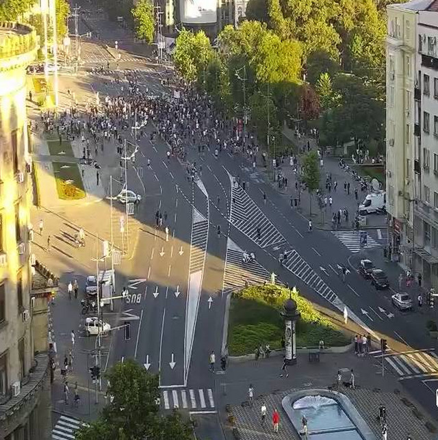 Protest 4 dan blokirane ulice