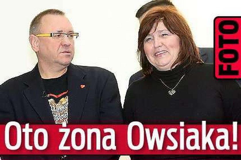 Oto żona Owsiaka! Foto