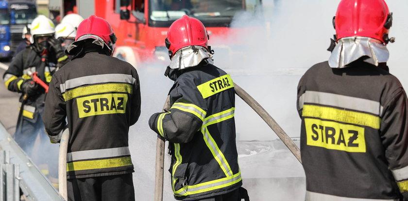 Pożar w bloku w Lęborku. Ewakuowano 19 osób!