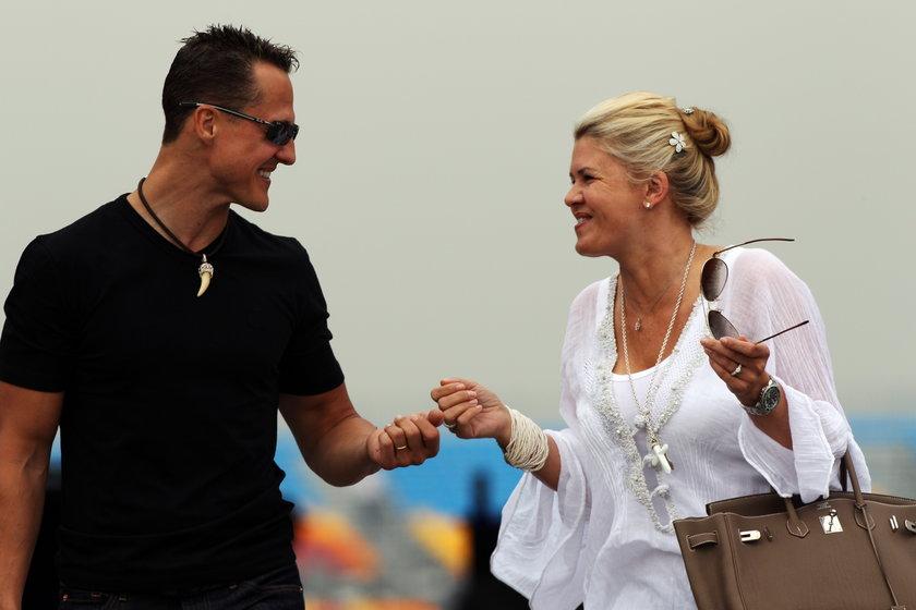 Żona Schumachera wyprzedaje majątek dla niego!