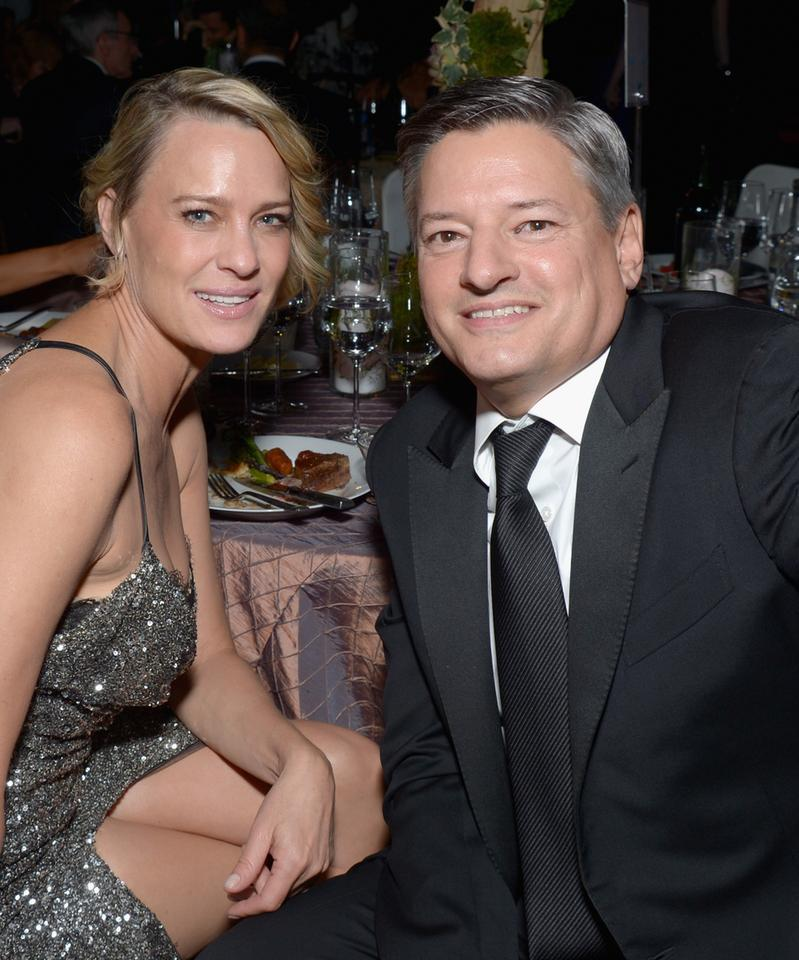 "Robin Wright ""House of Cards"" i Ted Sarandos CCO Netfliksa"