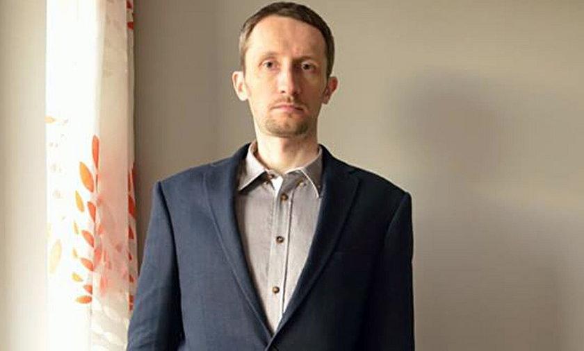 Zaginiony 39-letni Arkadiusz z Krakowa
