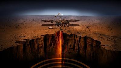 Sonda NASA InSight ujawnia wewnętrzne wymiary Marsa