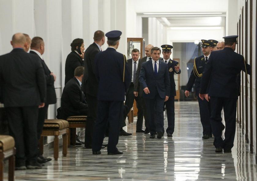 Marszałek Sejmu pozazdrościłszabel Węgrom