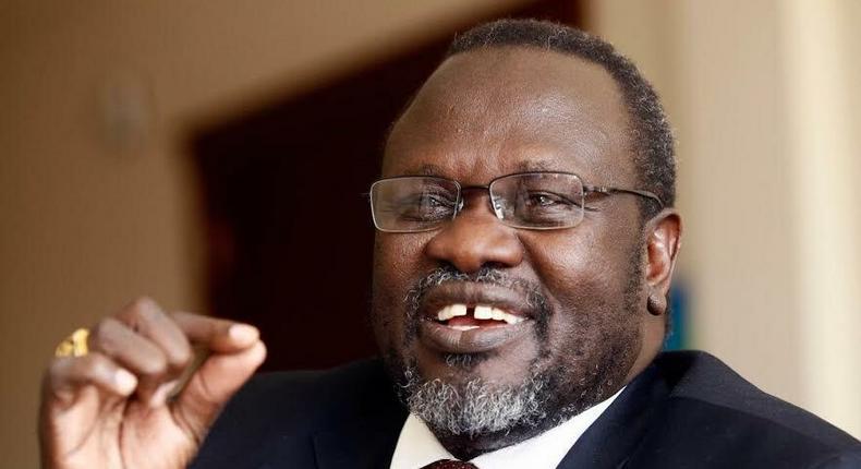 South Sudan's rebel leader Riek Machar
