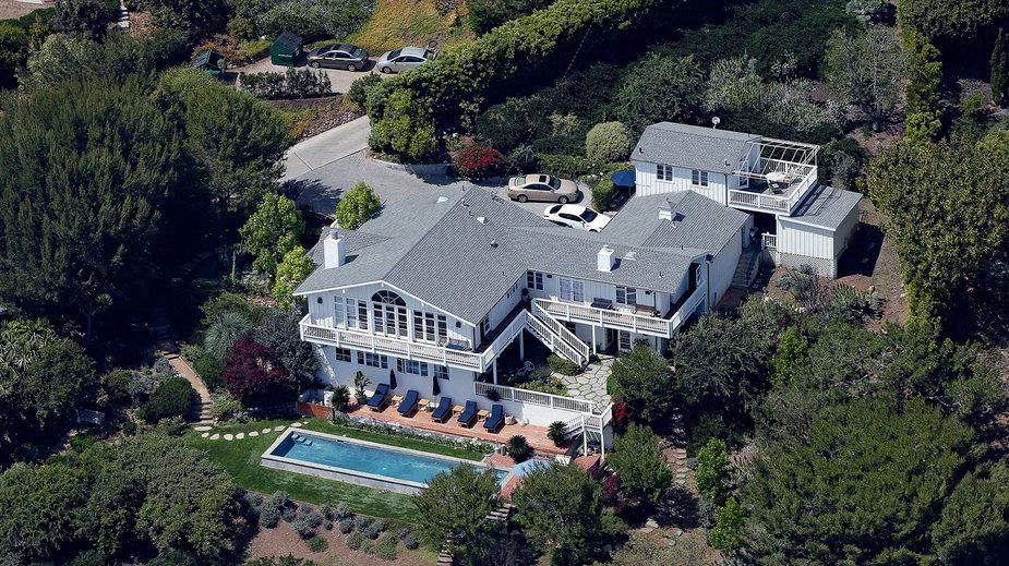 Widok na Cliffside Malibu, ekskluzywną klinikę odwykową, którą upodobały sobie gwiazdy Los Angeles.