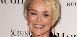 61-letnia Sharon Stone w kultowym rozkroku