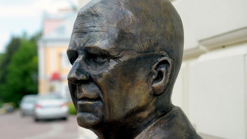 Pomnik Zdzisława Beksińskiego w Sanoku