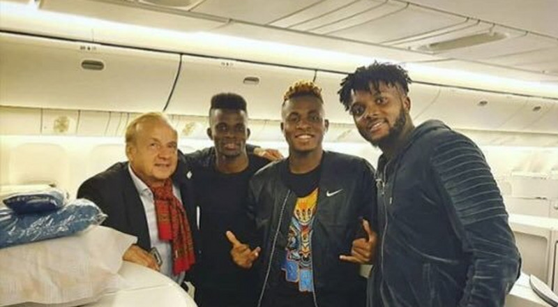Super Eagles stars jet out to Singapore for friendly games against Brazil