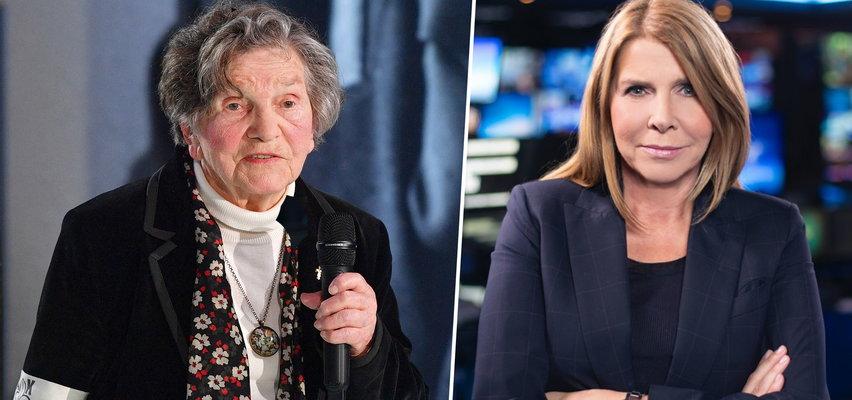 Wanda Traczyk-Stawska w TVN24: Mam wrażenie, że przedobrzyłam, nie wiedziałam, że będę miała do czynienia z takim chamstwem