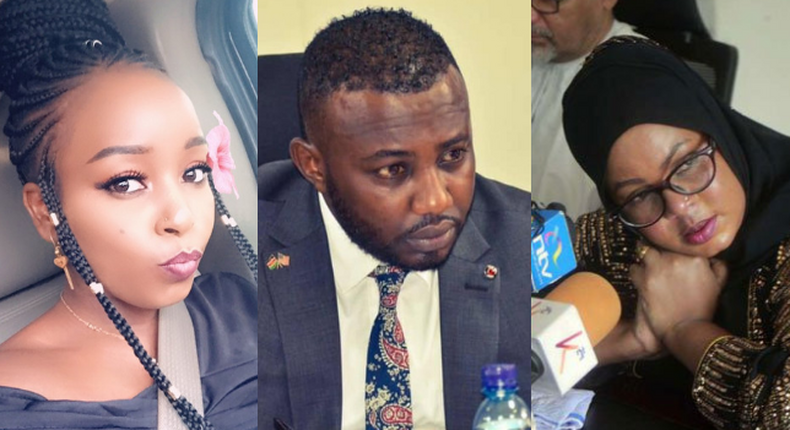 Saumu Mbuvi lectures woman claiming to be pregnant for her senator Fiancé