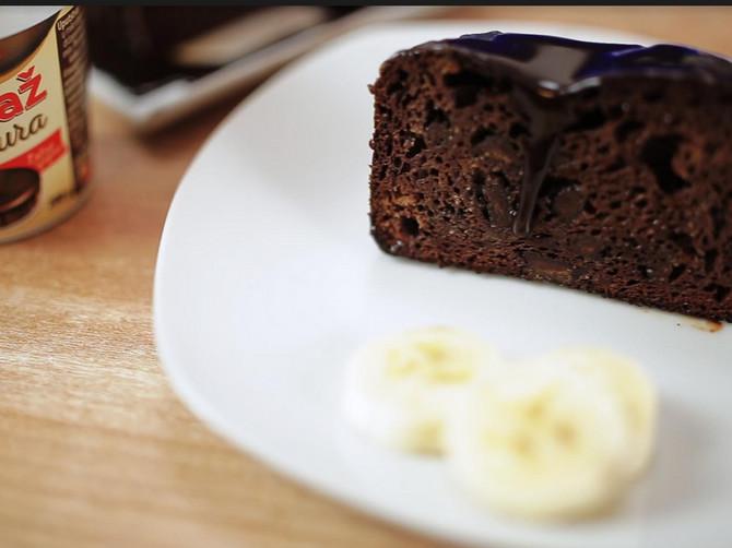 Ako ste mislili da HLEB ne može da bude RAJSKA POSLASTICA, onda niste probali BANANA HLEB sa ČOKOLADOM - bolji je od svakog kolača!
