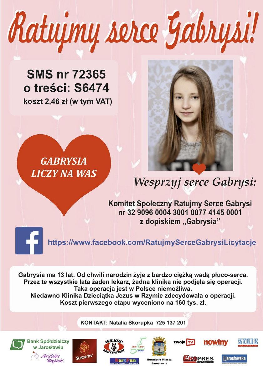 Ratujmy serce Gabrysi