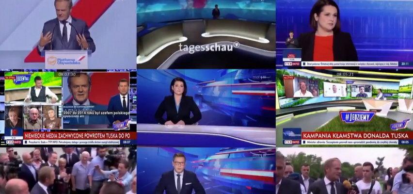 """Po mocnym ciosie TVN-u jest odpowiedź TVP. Wojna na zgryźliwe materiały między """"Wiadomościami"""" i """"Faktami"""""""